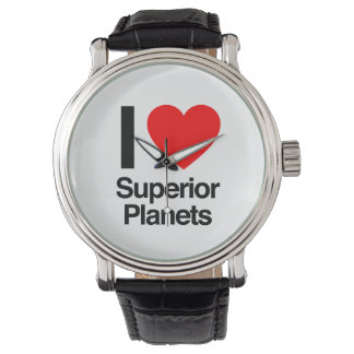 i love superior planets wristwatches