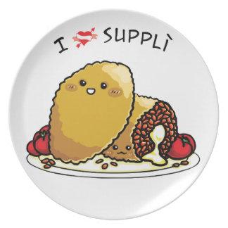 I love supplì plates
