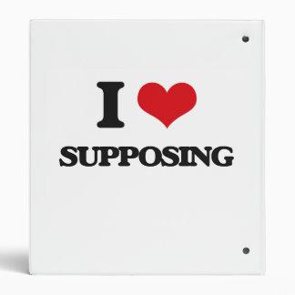 I love Supposing 3 Ring Binders