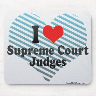 I Love Supreme Court Judges Mouse Pad