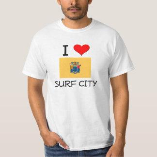 I Love Surf City New Jersey T-Shirt