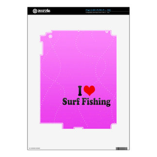 I love Surf Fishing Decals For The iPad 2