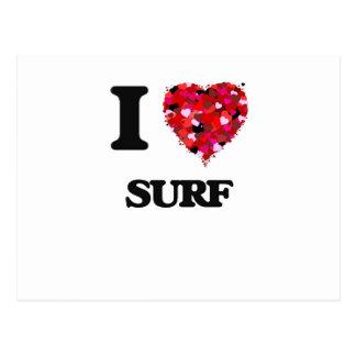 I love Surf New Jersey Postcard