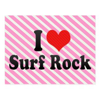 I Love Surf Rock Postcard