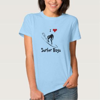 I Love Surfer Boys T-Shirt