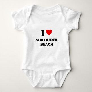 I Love Surfrider Beach California Tshirts