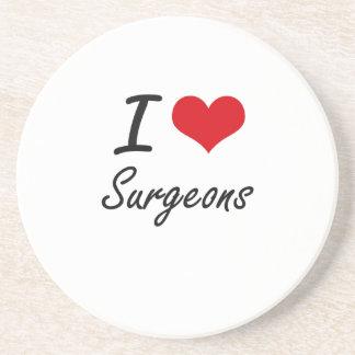 I love Surgeons Coaster