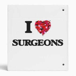 I love Surgeons Vinyl Binders