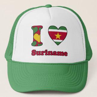 I love Surinam Trucker Hat