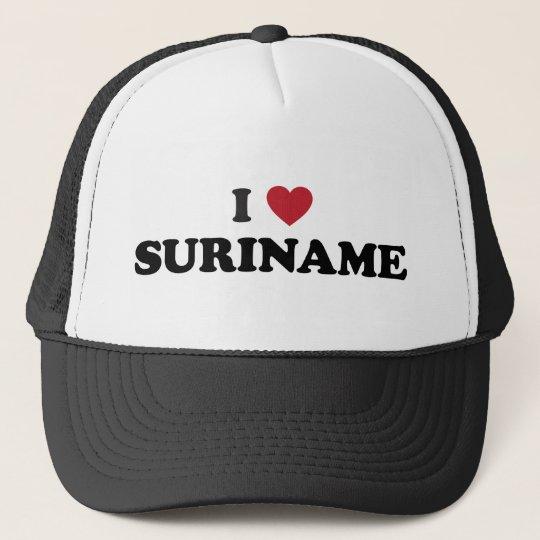 I Love Suriname Trucker Hat