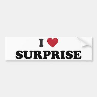 I Love Surprise Arizona Bumper Sticker