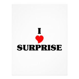 I love Surprise Letterhead