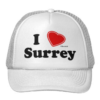 I Love Surrey Trucker Hat