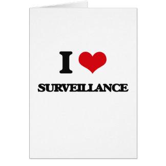 I love Surveillance Greeting Card