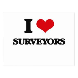 I love Surveyors Postcard