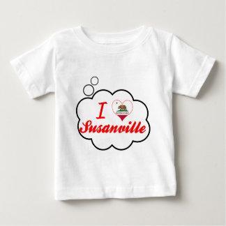 I Love Susanville, California Tee Shirts