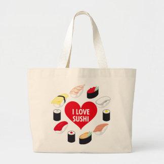 I Love Sushi Bag