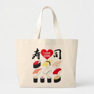 I Love Sushi Bags
