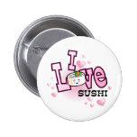 I love sushi button