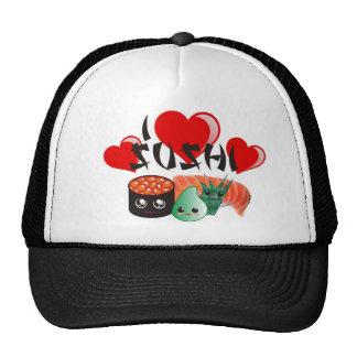 I Love Sushi hat