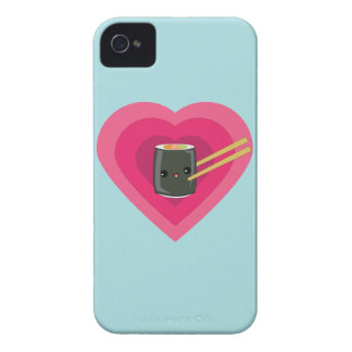 I Love Sushi Kawaii Sushi Roll iPhone case