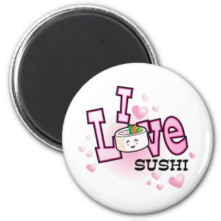 I love sushi magnet