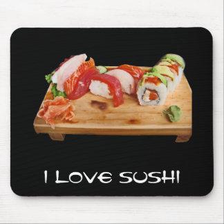 I Love Sushi Mousepad