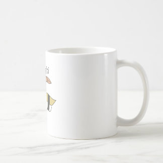 I Love Sushi Classic White Coffee Mug