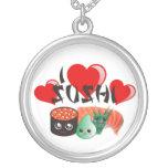 I Love Sushi Necklace