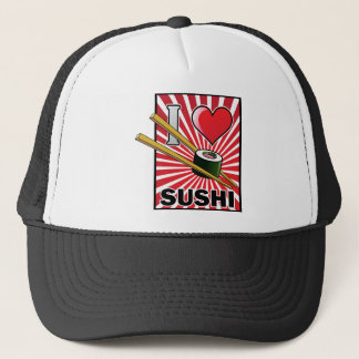 I Love Sushi! Trucker Hat