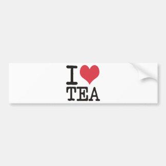 I Love Sushi - Wine - Tea Products & Designs! Car Bumper Sticker