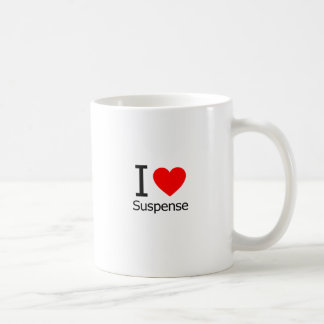 I Love Suspense Coffee Mug