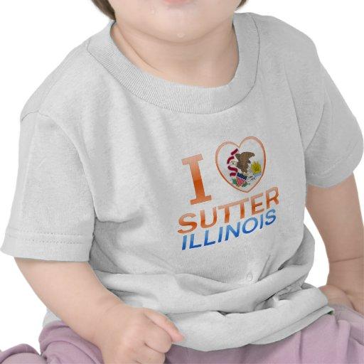 I Love Sutter, IL T-shirts