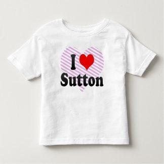 I Love Sutton, United Kingdom Tee Shirt