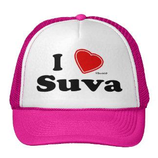 I Love Suva Trucker Hat