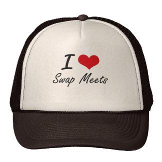 I love Swap Meets Trucker Hat