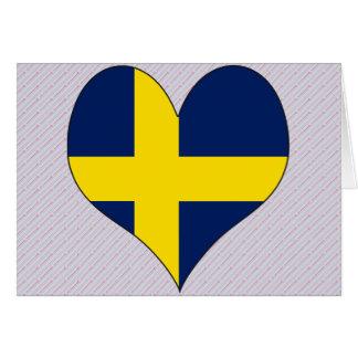 I Love Sweden Cards