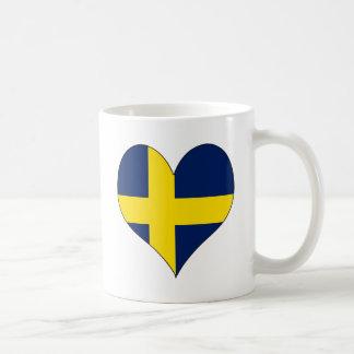 I Love Sweden Classic White Coffee Mug