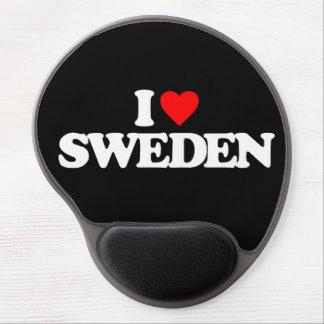 I LOVE SWEDEN GEL MOUSE PAD