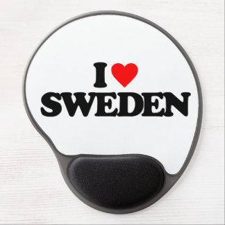 I LOVE SWEDEN GEL MOUSEPADS