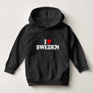 I LOVE SWEDEN HOODIE