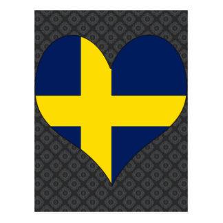 I Love Sweden Postcards