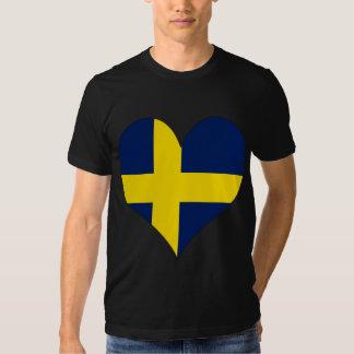 I Love Sweden Shirts