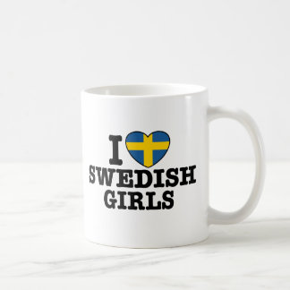 I Love Swedish Girls Coffee Mug