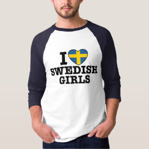 e1d3b3868 I Love Swedish Gifts T-Shirts - T-Shirt Design & Printing | Zazzle