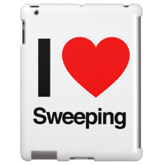 i love sweeping