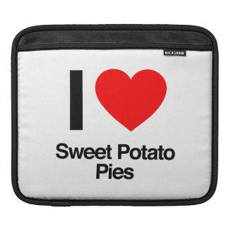 i love sweet potato pies iPad sleeve