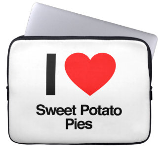 i love sweet potato pies laptop sleeve