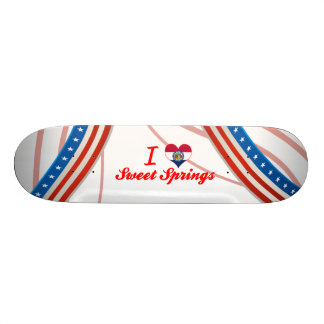 I Love Sweet Springs, Missouri Skate Boards