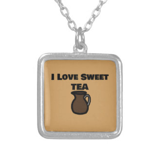 I Love Sweet Tea Necklace